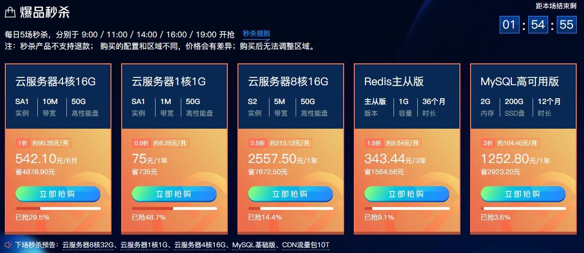 腾讯云新用户75元撸1年云