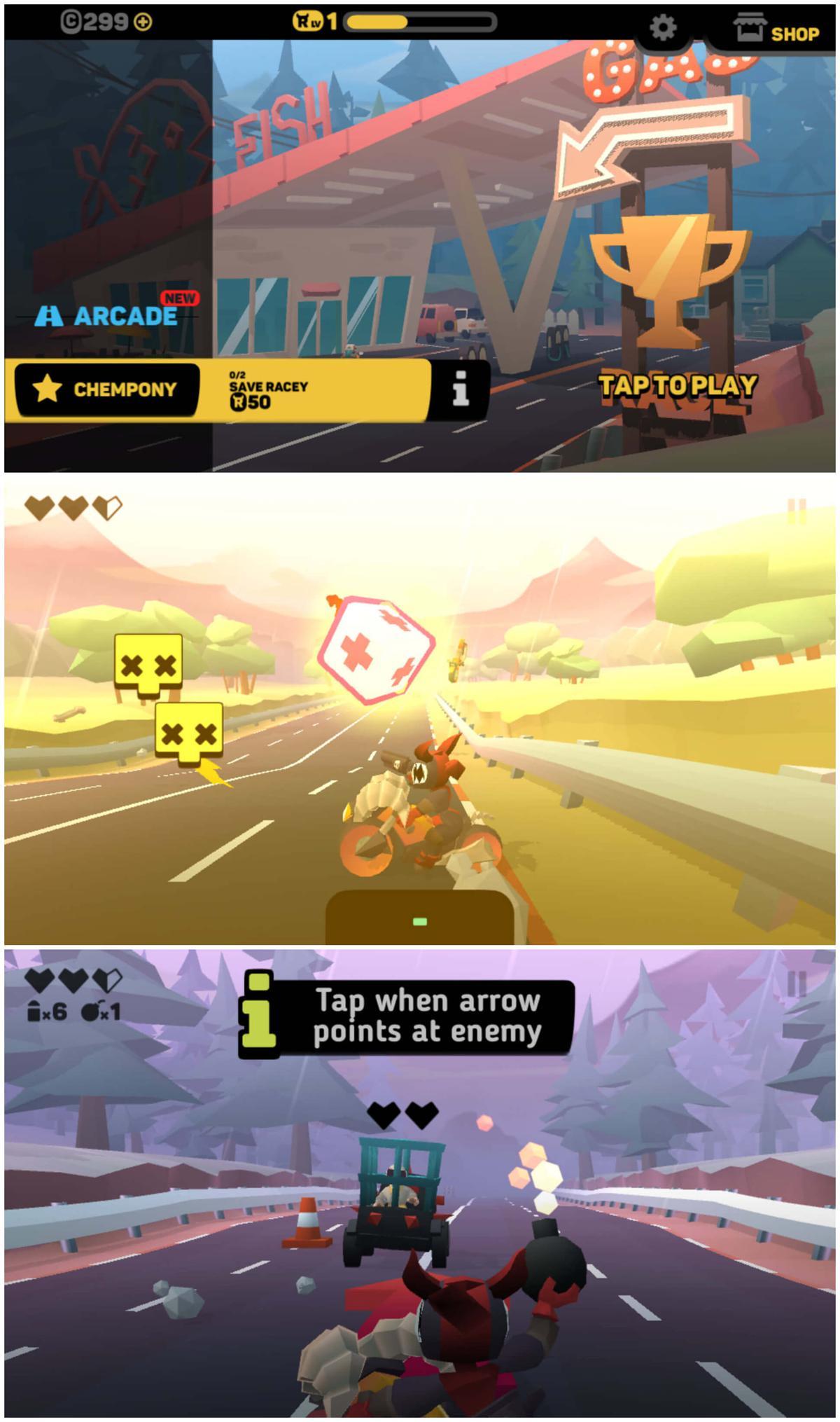 闯关射击游戏 地狱骑士3