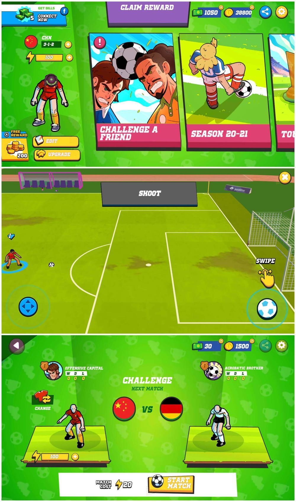 街机游戏 足球传奇绿化版
