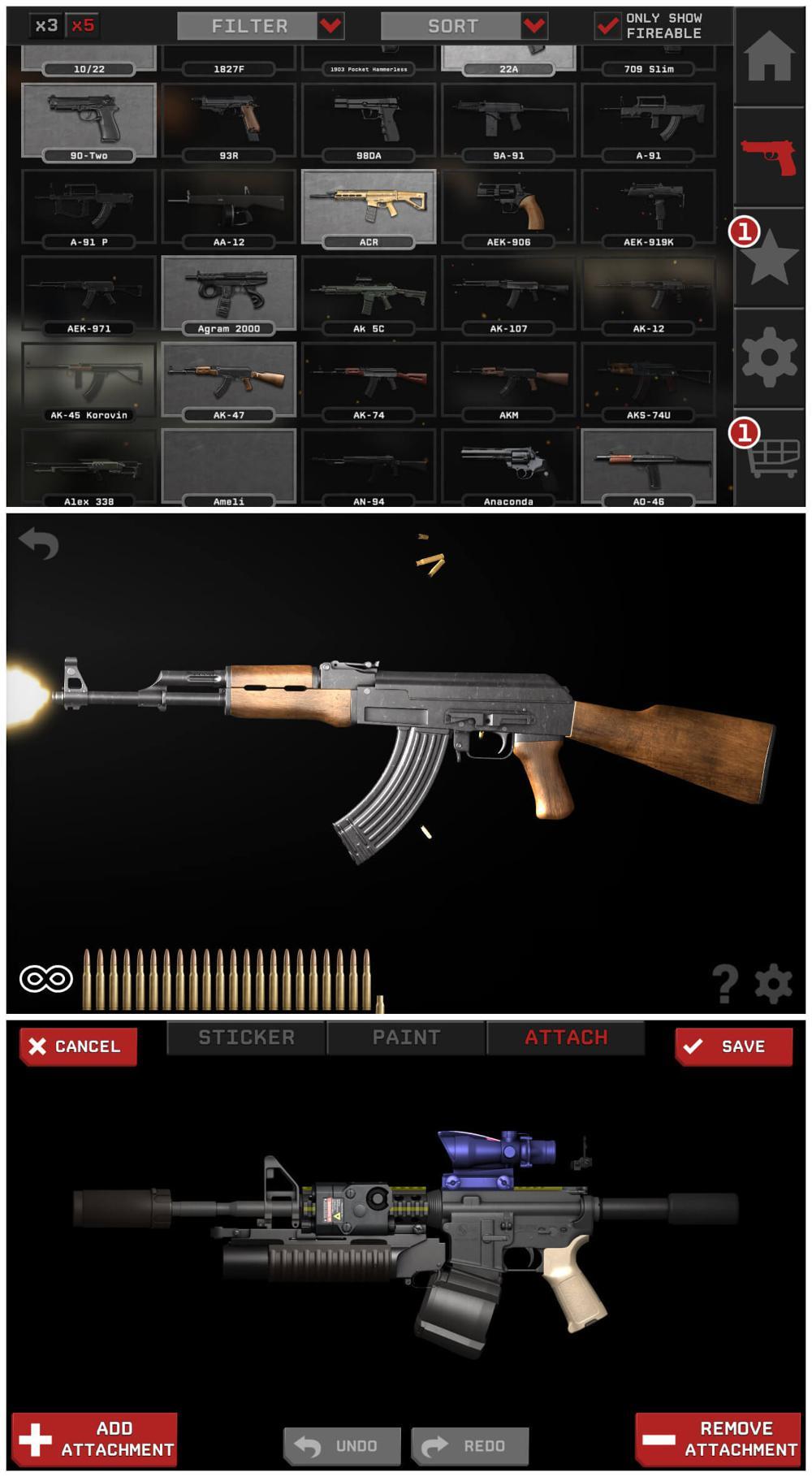 专业枪械模拟游戏 真实枪械2