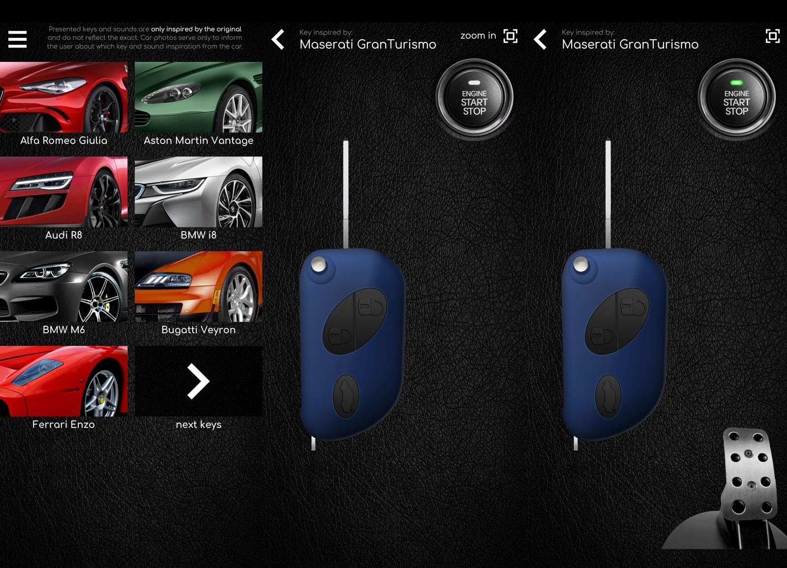 车钥匙模拟器 超级跑车钥匙