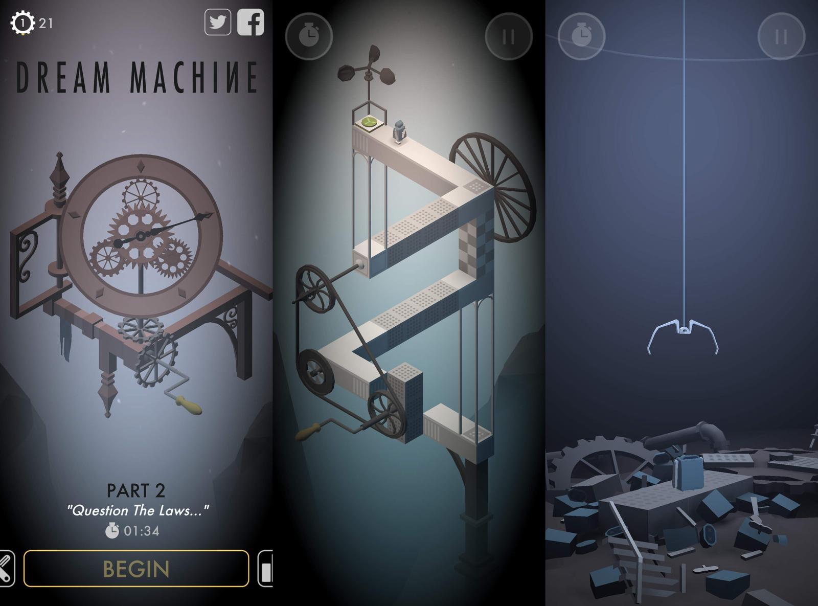 解谜闯关游戏 造梦机器人